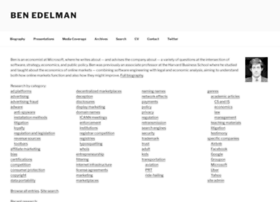 benedelman.org