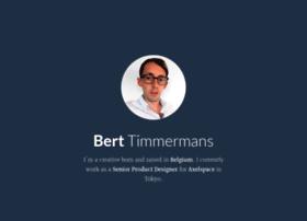 berttimmermans.com