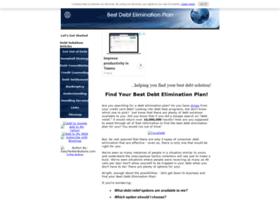 best-debt-elimination-plan.com