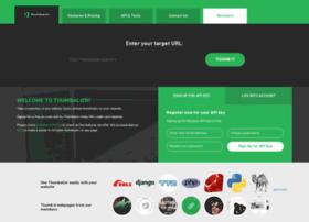 Beta.thumbalizr.com