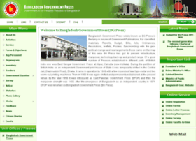 Bgpress.gov.bd