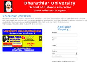 bharathiaruniversity.in