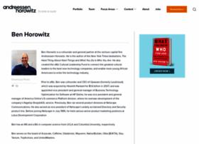 bhorowitz.com