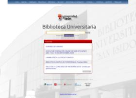 Biblioteca.unileon.es