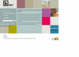 bibliotecaspublicas.es