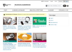biblioteket.stockholm.se