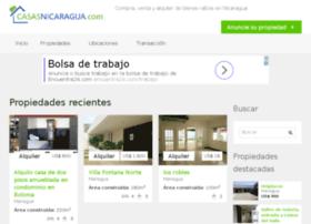 bienesraices.vivenicaragua.com