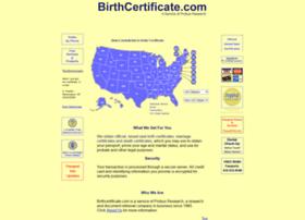 birthcertificate.com