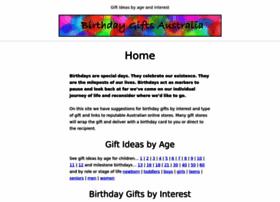 birthdaygifts.com.au