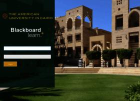 Blackboard.aucegypt.edu