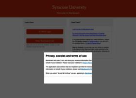 Blackboard.syr.edu