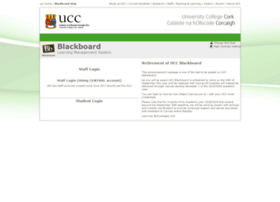 Blackboard.ucc.ie