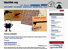 blacklist.org
