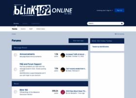 blink-182online.com