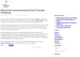 Blog.conceptfeedback.com