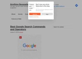 blog.gisuser.com