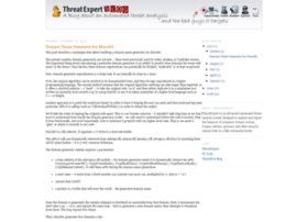 blog.threatexpert.com