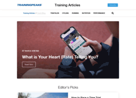 blog.trainingpeaks.com