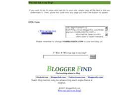 bloggerfind.com