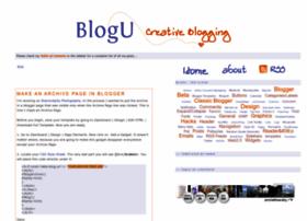 Bloggeruniversity.blogspot.com