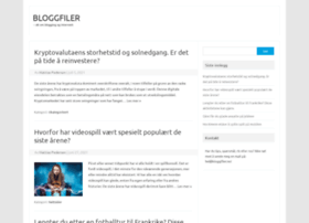 bloggfiler.no