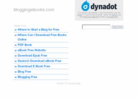 bloggingebooks.com