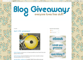 bloggiveaways.blogspot.com