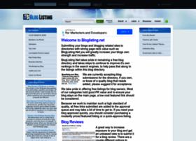 bloglisting.net