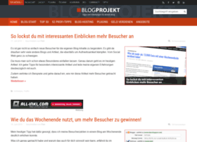 blogprojekt.de