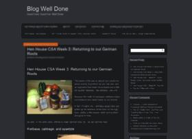 blogwelldone.com