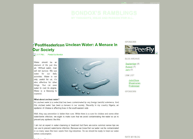 bondox.blogspot.com