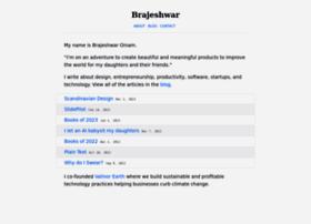 brajeshwar.com