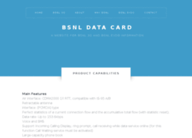 bsnldatacard.com