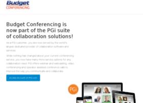 budgetconferencing.com