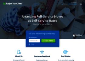 budgetvanlines.com
