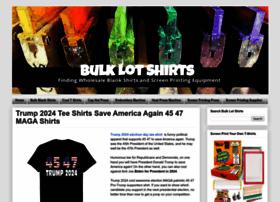 bulklotshirts.com