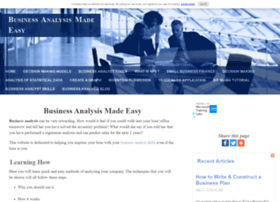 business-analysis-made-easy.com