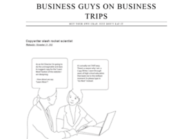 businessguysonbusinesstrips.com