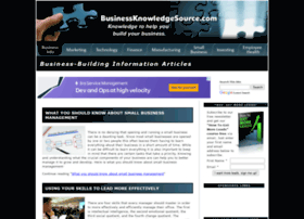 Businessknowledgesource.com