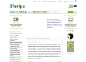Businessresearch.lifetips.com