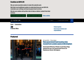 cabinetoffice.gov.uk