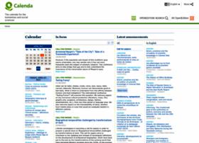 calenda.revues.org