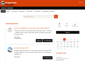 calendar.oregonstate.edu
