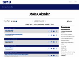 calendar.smu.edu