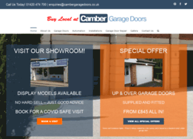 cambergaragedoors.co.uk