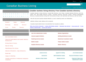canadianbusinesslisting.com