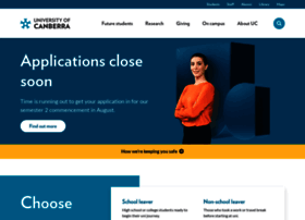canberra.edu.au