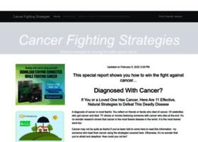 cancerfightingstrategies.com