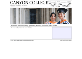 canyoncollege.edu
