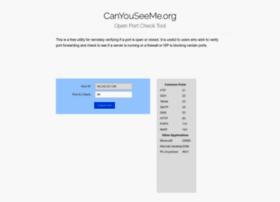 Canyouseeme.org